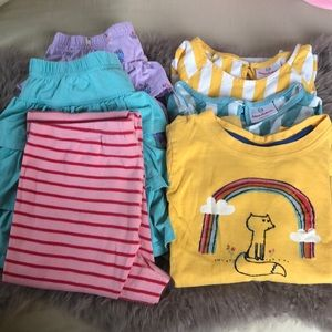 6 piece Hanna Andersson lot- size 130